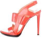 Reed Krakoff Leather Slingback Sandals