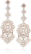 Laurent Gandini Torcello 9-karat rose gold earrings