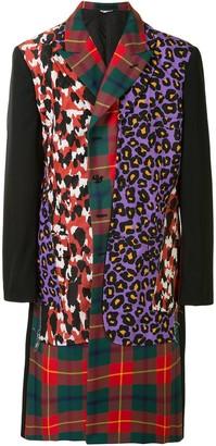 Comme des Garcons Leopard Panel Coat