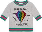 Gucci Children's sweatshirt with diamond