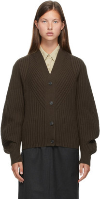 Low Classic Brown Whole Garment Cardigan