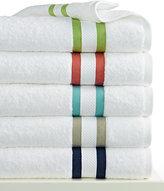 "Kassatex Mayfair Stripe 13"" x 13"" Washcloth"