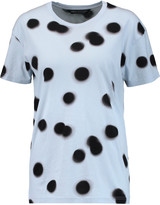 Marc by Marc Jacobs Blurred Dot printed cotton T-shirt