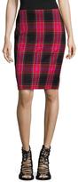 Trina Turk Crissy Plaid Pencil Skirt