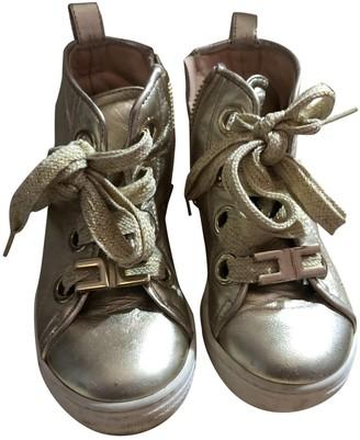 Elisabetta Franchi Gold Polyester Boots