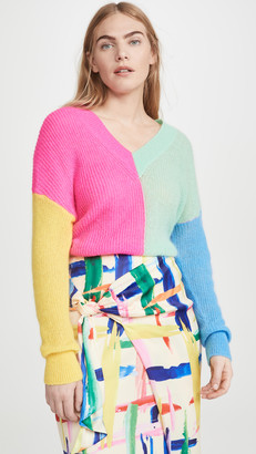 Essentiel Antwerp Vivar Colour Block Sweater