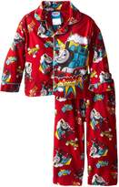 AME Sleepwear Little Thomas the Tank Engine Trains Coat Pajama Set