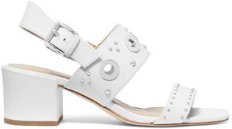 MICHAEL Michael Kors Caldwell Gryle Leather Heeled Sandals