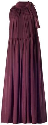 Casee Plum Maxi Dress