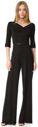 Black Halo Women's 3/4 Sleeve Jackie Jumpsuit