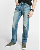Express Eco-friendly Classic Fit Straight Leg 365 Comfort Stretch Jeans