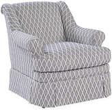 Mr & Mrs Howard Lawford Club Chair - Navy/White