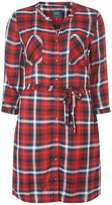 Only **Only Red check shirt dress