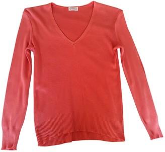 Stefanel Orange Cotton Knitwear