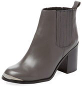 Ruviza Leather Bootie