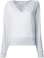 Rag & Bone Jean - V neck sweatshirt - women - Cotton/Spandex/Elastane/Modal - S