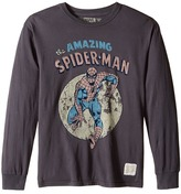 The Original Retro Brand Kids Long Sleeve Vintage Cotton Spiderman Tee (Big Kids)