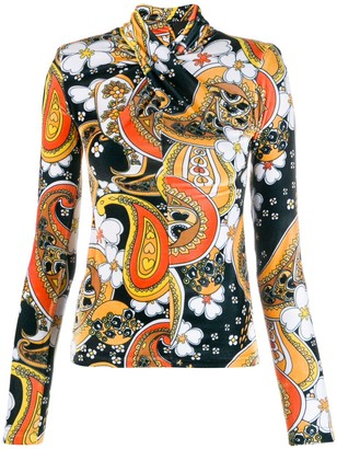 Richard Quinn Paisley Print Sweater