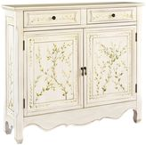 Bed Bath & Beyond Powell Hand-painted 2-Door Console in White