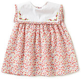 Edgehill Collection Baby Girls 3-9 Months Floral-Print Embroidered Dress
