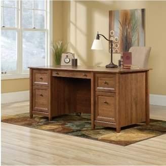 Three Posts Lamantia L-Shape Executive Desk Finish: Auburn Cherry