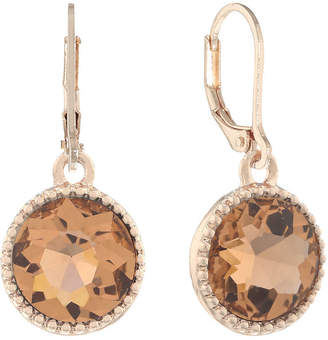MONET JEWELRY Monet Jewelry Pink Drop Earrings