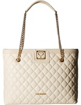 Love Moschino Superquilted Large Tote Tote Handbags