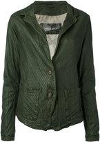 Giorgio Brato two button jacket - women - Cotton/Leather/Nylon - 44