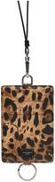 Dolce & Gabbana Leo Print Neck Cardholder