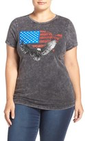 City Chic 'Graphic Lover' Tee (Plus Size)