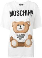 Moschino Teddy Print Oversized T-shirt