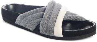 Isabel Marant Holden Cross Strap Slide Sandal