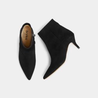 Ivylee Copenhagen - Black Suede Leather Bambi Stiletto Boot - black | suede leather | 37 - Black/Black