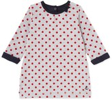 Petit Bateau Baby girls polka dot dress
