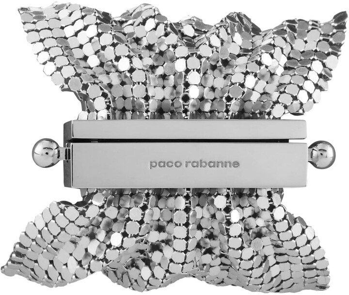 Thumbnail for your product : Paco Rabanne Pixel Tie Bracelet In Silver Color Knit