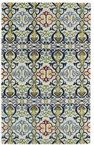 Leon Hand-tufted de Boho Ivory Rug (5' x 7'9)