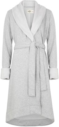 UGG Duffield II Fleece-lined Cotton Jersey Robe