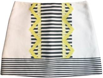 Versace White Cotton Skirt for Women