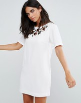 French Connection Ernest Floral Shift Dress