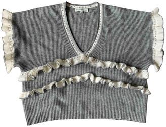 White + Warren Grey Cashmere Knitwear for Women