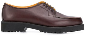 Holland & Holland chunky heel Derby shoes