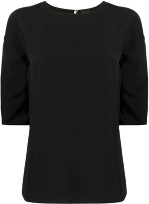 Aspesi Silk Straight Fit Blouse
