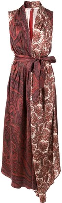 ADAM by Adam Lippes paisley print dress