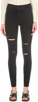 Paige Margot destructed ultra-skinny super high-rise jeans