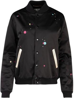 Saint Laurent Printed Bomber Jacket
