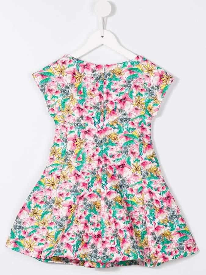 Armani Junior floral print dress