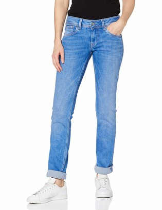 Pepe Jeans Women's Saturn Straight Jeans