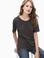Splendid Cotton Slub Tee Shirt
