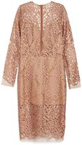 Michelle Mason Floral Leaves Dress