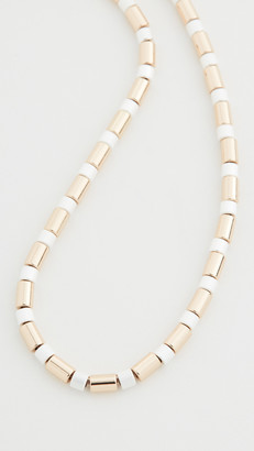 Roxanne Assoulin Jaquard U-Tube Necklace